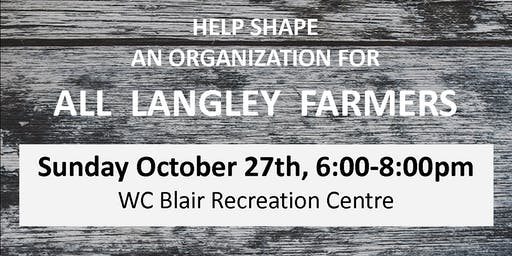 An Association for Langley Farmers