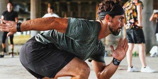 "lululemon MEN'S EVENT: Sweat & Connect ""Grunge"" Workout"