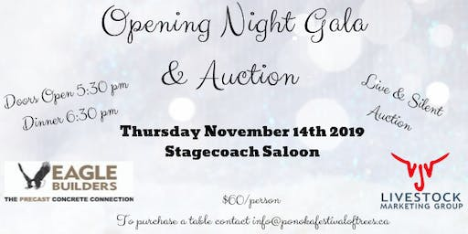 Opening Night Gala & Auction