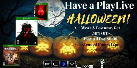 Halloween Gaming Party: $35 tickets