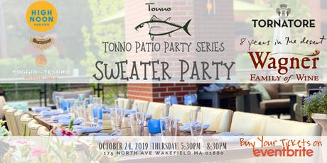 Patio Sweater Party tickets