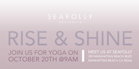 RISE & SHINE With Seafolly tickets
