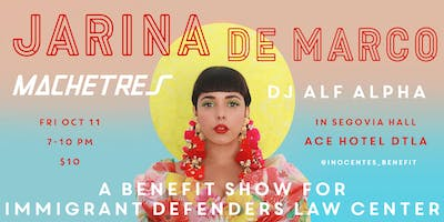 Jarina De Marco at Ace Hotel: A Benefit for ImmDef