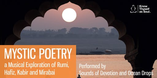 Music & Mystic Poetry - Sounds of Devotion & Ocean Drops - Nov 2