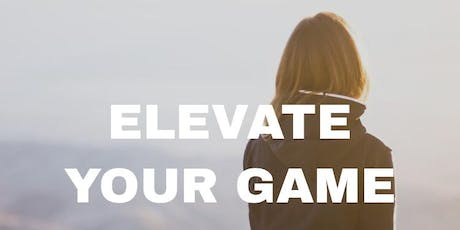 gamechanger sessions: Elevateyourgame2020 tickets