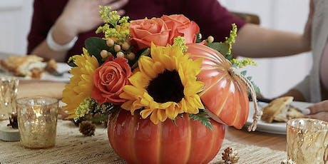 Fall Pumpkin Arrangement tickets