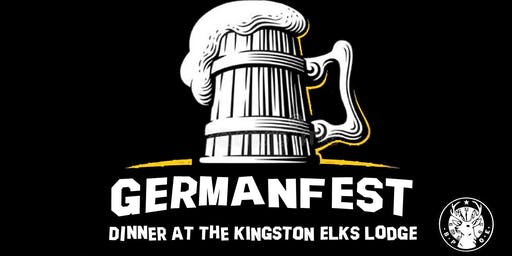 GermanFest Dinner at the Elks Lodge