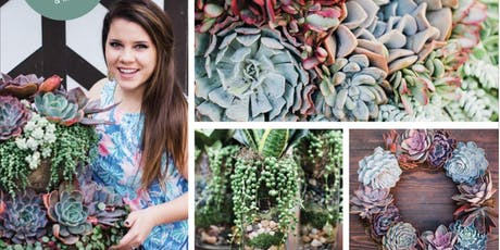 Stylish Succulent Designs Book Launch Toasting Party tickets