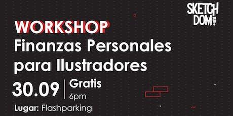 Workshop: Finanzas Personales Para Ilustradores entradas
