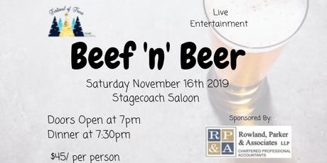 Beef 'n' Beer tickets