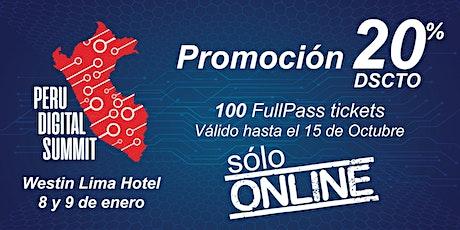 PERU DIGITAL SUMMIT 2020 entradas