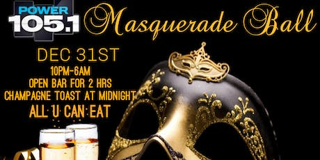 POWER 105.1 NEW YEARS EVE MASQUERADE BALL tickets