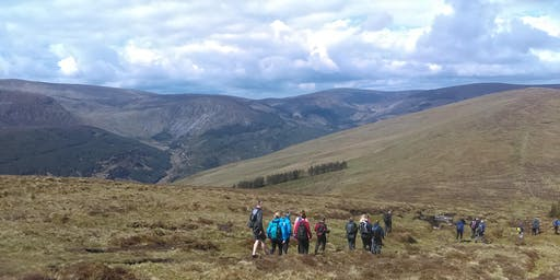 Glendalough to Glenmalure/Lugnaquilla: A Two Day Guided Hike.