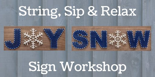 String Art Sign Workshop