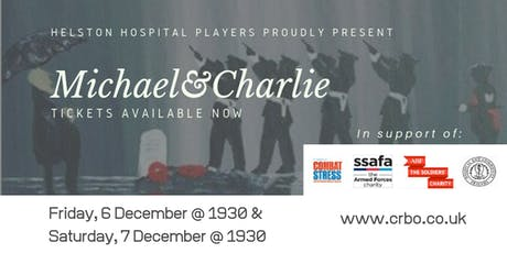 'Michael and Charlie' a play by Neill Wilson   6 & 7 December tickets