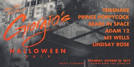 Giorgio's Halloween 2019 tickets