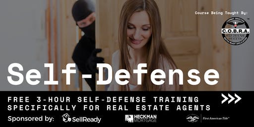 Realtor Self-Defense Training - For Real Estate Agents Only