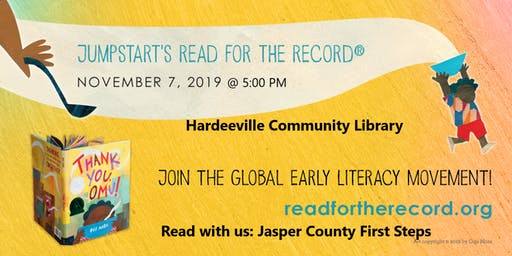 Jasper Co First Steps - Read for the Record 2019