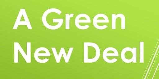 Public Meeting A Green New Deal