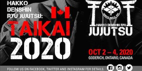 2020 Hakko Denshin Ryu International Taikai tickets