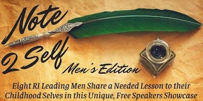 Note 2 Self Men's Speakers Showcase
