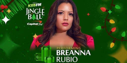 Breanna Rubio Jingle Ball VIP Meet & Greet
