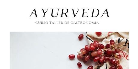 Ayurveda Curso Taller de Gastronomía Urbana. boletos