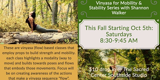 Vinyasa for Mobility & Stability with Shannon Walker