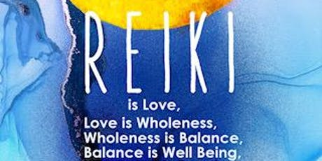 REIKI  ATTUNEMENT tickets