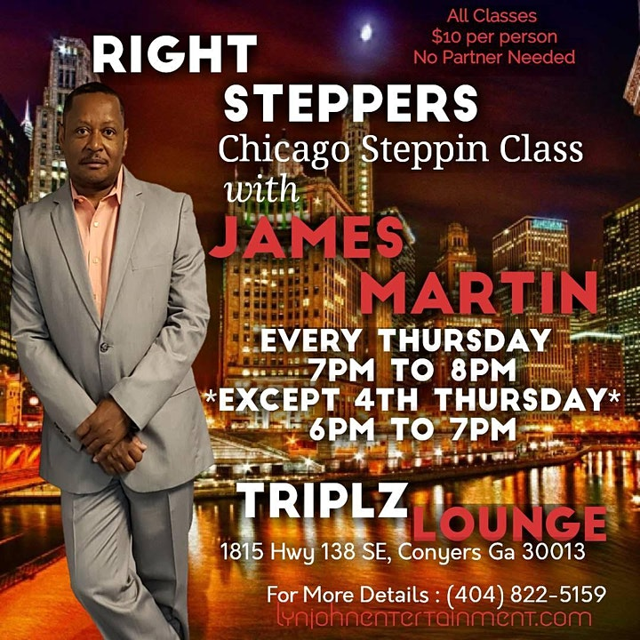 Steppin' Class with James Martin image