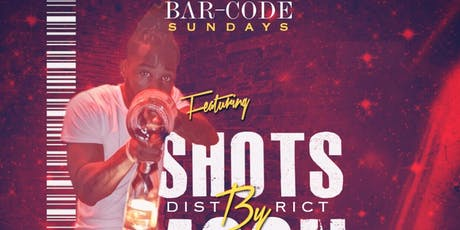 Shots By Moon at Barcode tickets