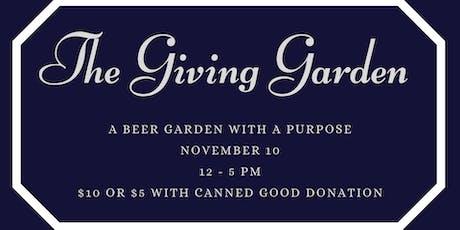 The Giving Garden tickets
