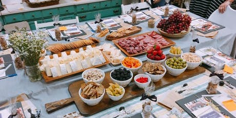 Cheese + Charcuterie | Styling your own board with The Gourmet Goddess at Journeyman Distillery tickets