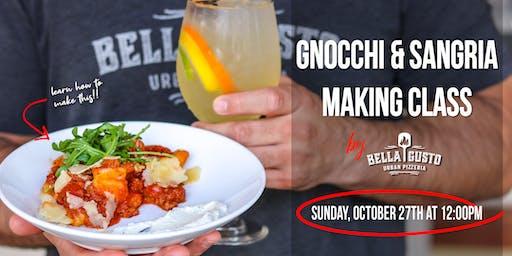Gnocchi + Sangria Making Class