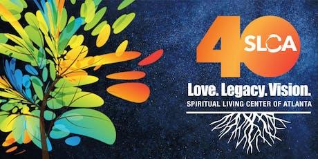Spiritual Living Center of Atlanta 40th Anniversary Celebration tickets