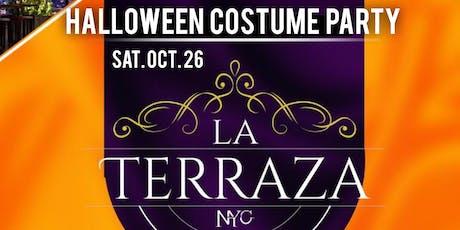 LA TERRAZA HALLOWEEN PARTY SATURDAY NIGHT OCT 26TH  tickets