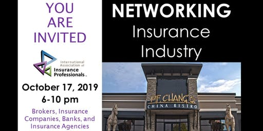 Insurance Industry Networking - IAIP 2022 Regional Conference