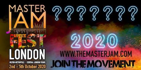 Master Jam Fest 2020 tickets