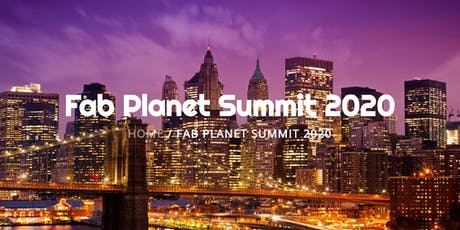 Fab Planet 2020 tickets