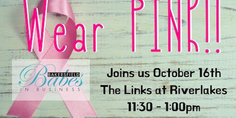 Breast Cancer Awareness Babes Lunch tickets