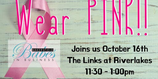 Breast Cancer Awareness Babes Lunch
