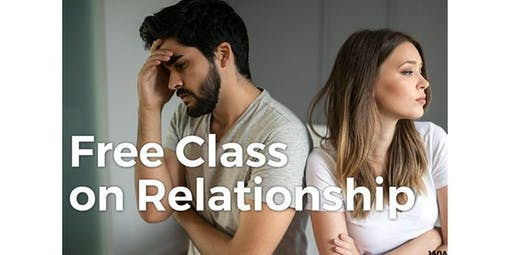 Free Class on Relationship (2019-11-16 starts at 1:00 PM)