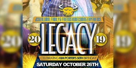 JCSU Legacy 2019 Homecoming Experience tickets