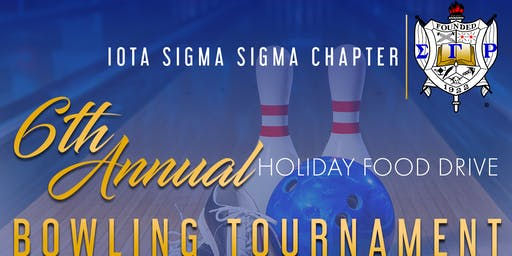 6th Annual Holiday Food Drive Bowling Tournament