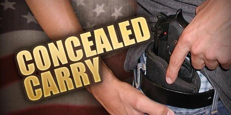 OKLA CONCEALED HANDGUN CARRY COURSE tickets