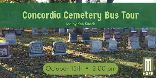 Concordia Cemetery Bus Tour with Ken Knack