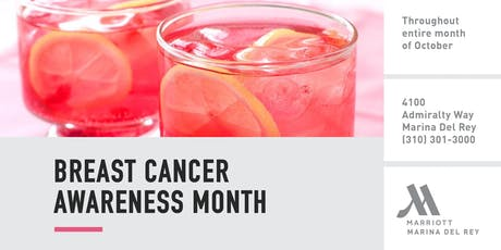 Breast Cancer Awareness Month Cocktail tickets