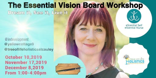 THE ESSENTIAL VISION BOARD WORKSHOP