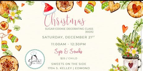 Ho Ho Ho Holiday Kid's Cookie Decorating Class tickets