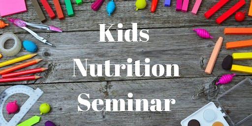 Kids Nutrition Seminar